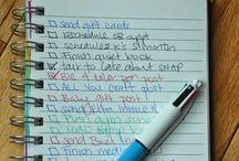 Getting Organized / by Alyssa Dorman