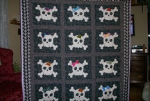 Skull quilt project ideas  / by M. R. Marler