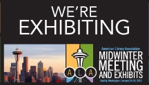 Exhibitor Highlights / What's new with you?  What are you showcasing at Midwinter 2013?  Do you have any tips or tricks for walking the exhibit floor? / by ALA  Midwinter Meeting & Exhibits