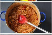 Dinner ideas / by Dana Doonan