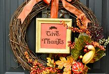 Fall/Thanksgiving Ideas / by Heather Smith