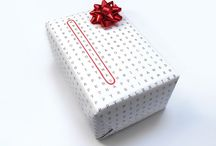 Wrapped / Ideas wrapping gifts / by Carrie Kane