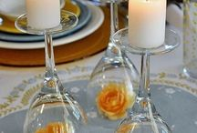 Wedding centerpieces / by Debra Adams