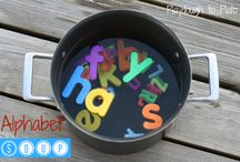 Alphabet fun / by Becky Hormuth