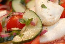 Salads / by Karen Hinkel Mikus