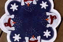 candle mats / by Roxanne Bowerman