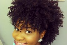 Natural Hairstyles / My love of all things pertaining to natural hair. Appreciating the varying textures, styles, expression and color  / by Claudia Weekes