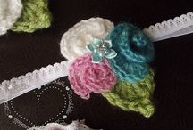 crochet embelishments / by Mrs Stilly
