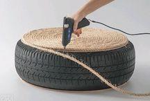 Trabalho de pneu / by roseli soares