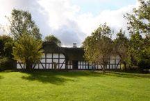 Farm Houses / Gårde og huse på Frilandsmuseet Farm and houses at The Open Air Museum / by Nationalmuseet