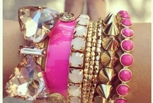 """Jewelry - bracelets / """"Put those bracelets in the air and let that gold shine."""" -Vado / by Emily Reed"""