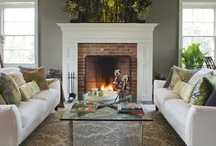 fireplaces / by Amanda McAlpine