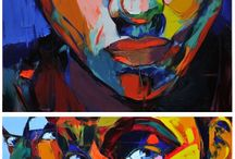cool paintings / by Alicia Hawks Rodriguez