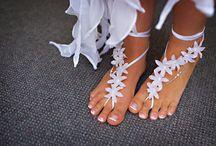 Barefoot sandals | Lábfejdísz | Fußschmuck / Barefoot sandals | Lábfejdísz (Mezítlábas szandál) | Fußschmuck (Barfuß Sandalen) / by Nanon // NanonArt