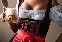 Dirndls / Our authentic Bavarian women's clothing. Wear an authentic Dirndl for Oktoberfest this year. / by oktoberfesthaus.com