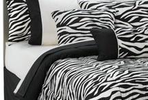 Zebra Theme Room Ideas / by Janet Reynolds