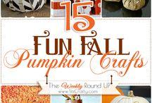 Pumpkin Crafts & Decor / by Lucille Kauffman