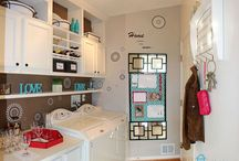 Laundry Room Ideas / What a laundry room should function and feel... / by Sherry Gwynn