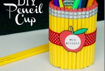 Crafts/gifts for teachers / by Leanne Witney