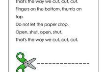 Back to School....Using Scissors / by Carla M.