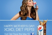 Celebrate Mom / We are all about refreshing our biggest fans - moms!   We started off our #celebratemom week with a Twitter party with mommy bloggers & celeb moms!  The party continues! Get your glam face ready & customize your own Mother's Day e-card using our Photo Booth App! http://pep.si/KMqqAq  To finish the celebration, Diet Pepsi street teams will be spotting and surprising moms who are drinking Diet Pepsi and rewarding them with SpaFinder gift cards and custom totes filled with goodies! / by Diet Pepsi