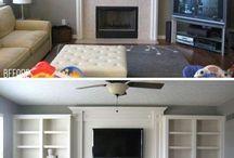 living rooms / by Renee Westmoreland