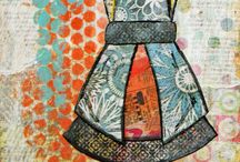 Canvas/Journal Art / by Cathryn Hanson