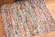 knitted fabric scraps / by Rene Crowder