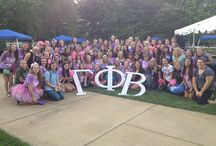 Gamma Phi does it Beta! / I'm a Gamma Phi Beta to the crescent moon and back :) / by Stephanie Washburn