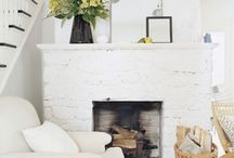 Mantles / Art & beauty & fireplaces  / by Emily Jeffords