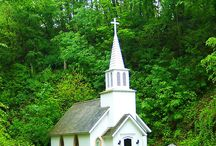 Country Churches & Chapel / by Cindy Dunn