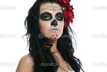 Day of dead makeup / by Genoa Emmerton Yox