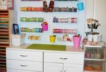 Organize it! Craft Rooms / by Lynn Allen