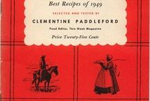 Old cookbooks / by Charlene Williamson