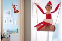 Elf on a Shelf / Elf on a Shelf ideas / by Kori Radloff