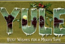 Yule : Mother's Night: Winter Solstice : The Wild Hunt: Boxing Day  / Winter Solstice, Dec 20-22. Yule, the midwinter fertility festival, Mother's Night, the Wild Hunt. Feasting, toasting, a 'Waes Hail' for your good health and a blessing for the trees and next year's crops. The Oak King defeats the Holly King and the days get longer as sunlight returns. We exchange gifts, celebrating the returning light, hopefull that the year will be bountiful.  / by Amy Bradstreet
