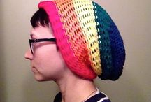 Angryknitters / Rainbow hat / by Leann Cantrell