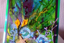 Alcohol Ink ideas!  / by Olivia Siple