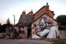 Street art / art / by Jeanne Ernest