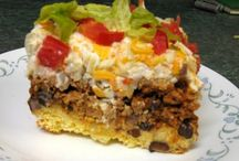 Dinner Time Casseroles / by Vickie Moews