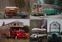 Mobile homes, house-trucks and Gypsy waggons / by Nico Abraxas