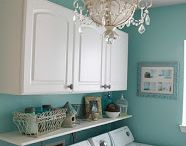 laundry room ideas / by Sherry Perkins