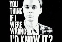 Gotta love Sheldon.... / by Janice Johnson-Poling