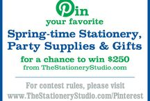 The Stationery Studio Spring 2014 Contest / by Marie Muckey