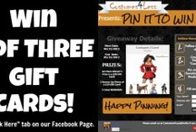 CONTESTS! / by Costumes 4 Less