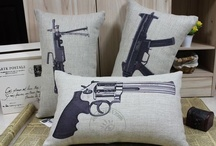 Guns - Decor / by Barbed Wire