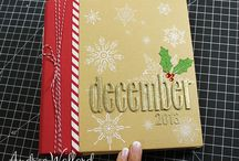 December Daily Pages Designed by Andrea Walford / My place to share my December Daily Pages / by Andrea Walford