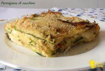Ricette con zucchine facili e veloci / by Olha Myturak