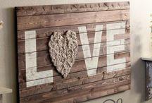 Diy Wall Art / by Torte di pannolini Betty's Heart