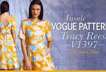 Craftsy Classes & Kits / Classes and kits on Craftsy featuring our patterns. / by The McCall Pattern Company